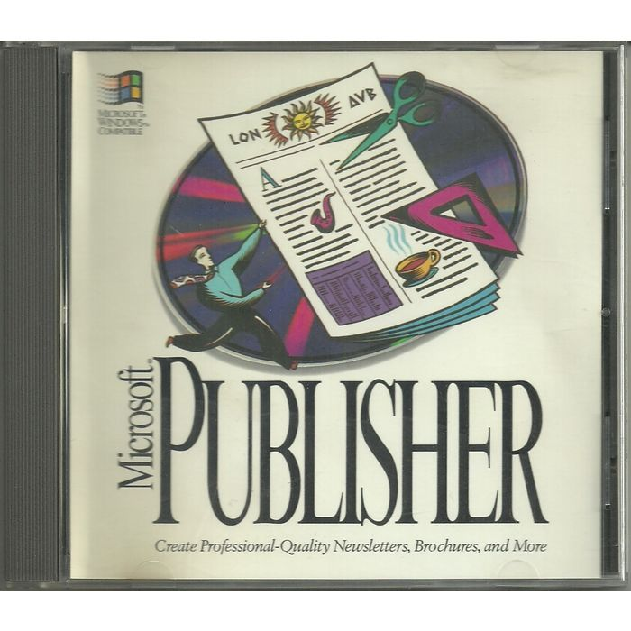 Microsoft Publisher 2.0 for Windows 3.x CD-ROM 1993 Disc Assy # 164-052-006 Listing in the Desktop Publishing,Software,Computing Category on eBid Canada | 155222893 CAN$ 20.00 + shipping