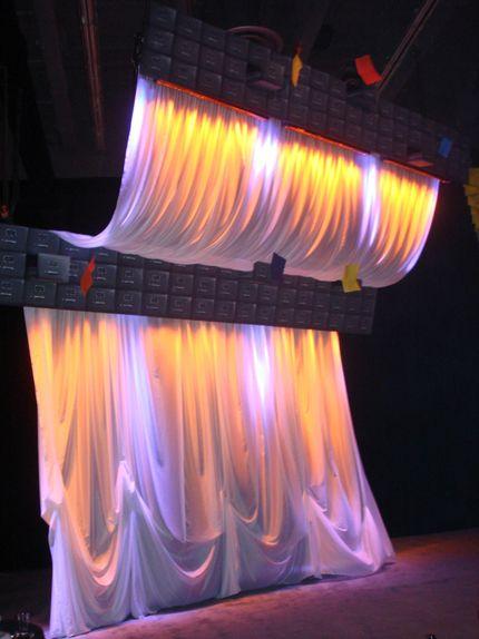 Corporate event at  Palais de congrès de Montréal 2010. Set Design by Ian Routhier. Photo: © Cirque du Soleil