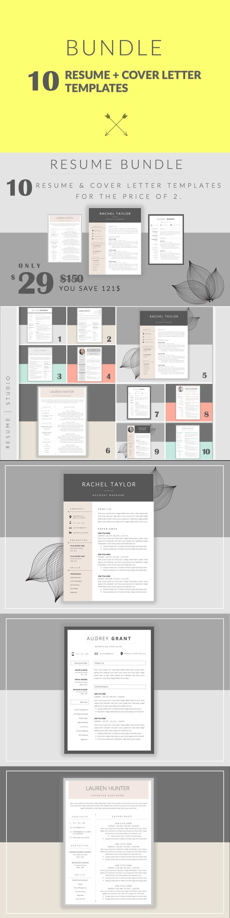 Template For A Cover Letter For A Resume%0A Resume Template  u     Cover Letter        Easy to edit  You can change the  colors if you like  remove anything that you don   u    t need  copy paste