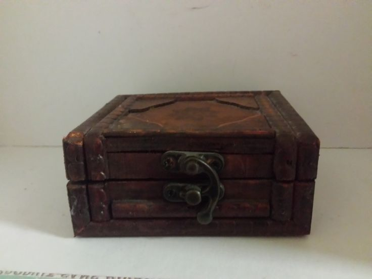 Love carved wood boxes