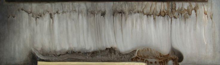 Religo - Oil on linen - 191x57 cm - 2011 - Alessio Pierro