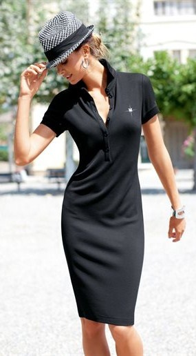 Summer Polo dress. Now this is my type of style! I love the simplicity of this dress and it could also be dressed up with some accessories.