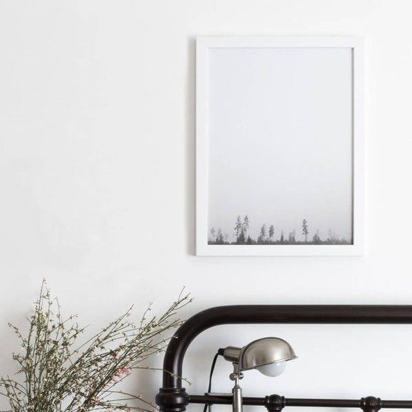 Photographic Forest Print