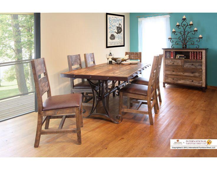 35 best Dining Room images on Pinterest | Dining room sets, Red ...