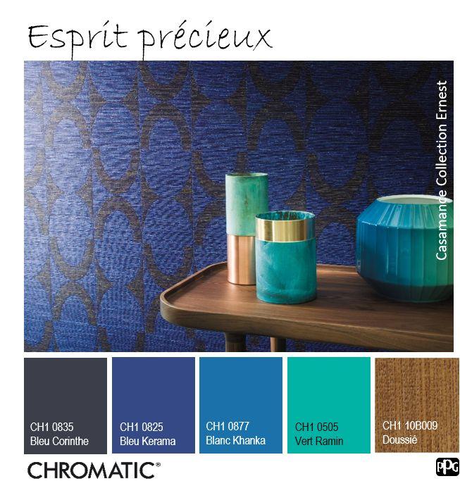 Cette tendance indigo offre un coté précieux à nos intérieurs le turquoise apporte la lumière