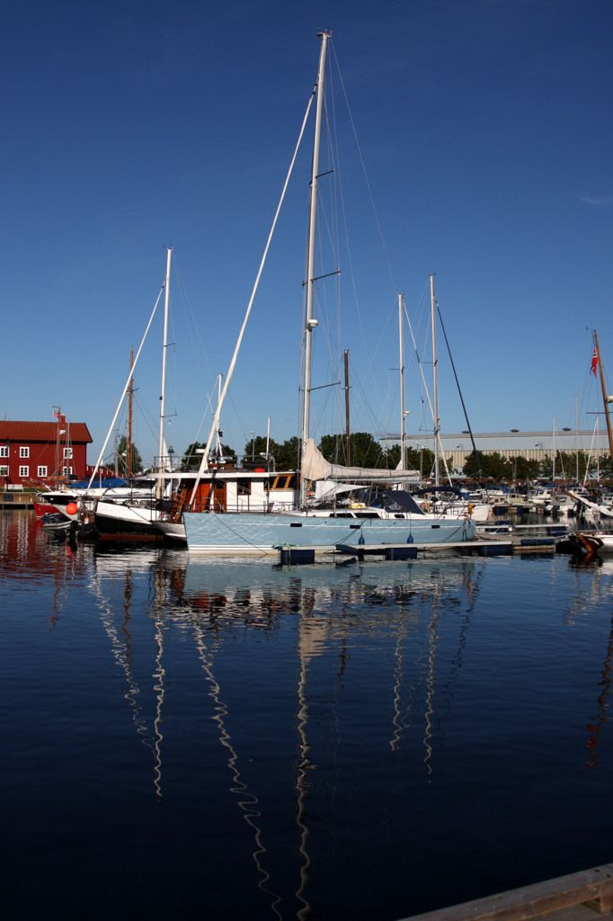 The harbour in Holmestrand