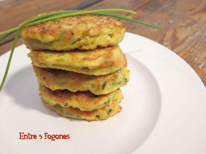 Estas Tortitas o Tortillitas de Zanahoria y Calabacín son una muy buena opción de tomar verdura de una forma amena. Quedan tiernas y su sabor y textura son muy agradables. Las hierbas aromáticas le…