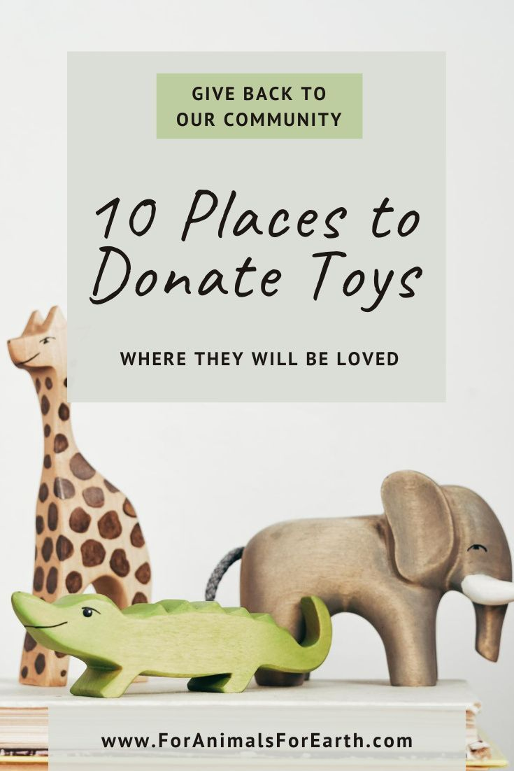 10 Unique Places To Donate Toys Where They Will Be Loved In 2020 Habitat For Humanity Toys For Us Toy Rooms