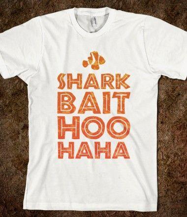 Welcome brother Shark Bait. Shark Bait Hoo Haha . Dr. Laji James, Pediatric Dentistry - pediatric dentist in Houston, TX @ kidsdentistofhouston.com #sharks #disney #findingnemo
