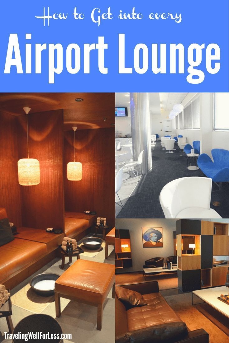 Airport lounge access is usually reserved to those who buy expensive tickets like First Class and Business Class. Or who have an airline lounge membership. But with these easy tips and tricks, you can get into every airport lounge, even if you're flying c