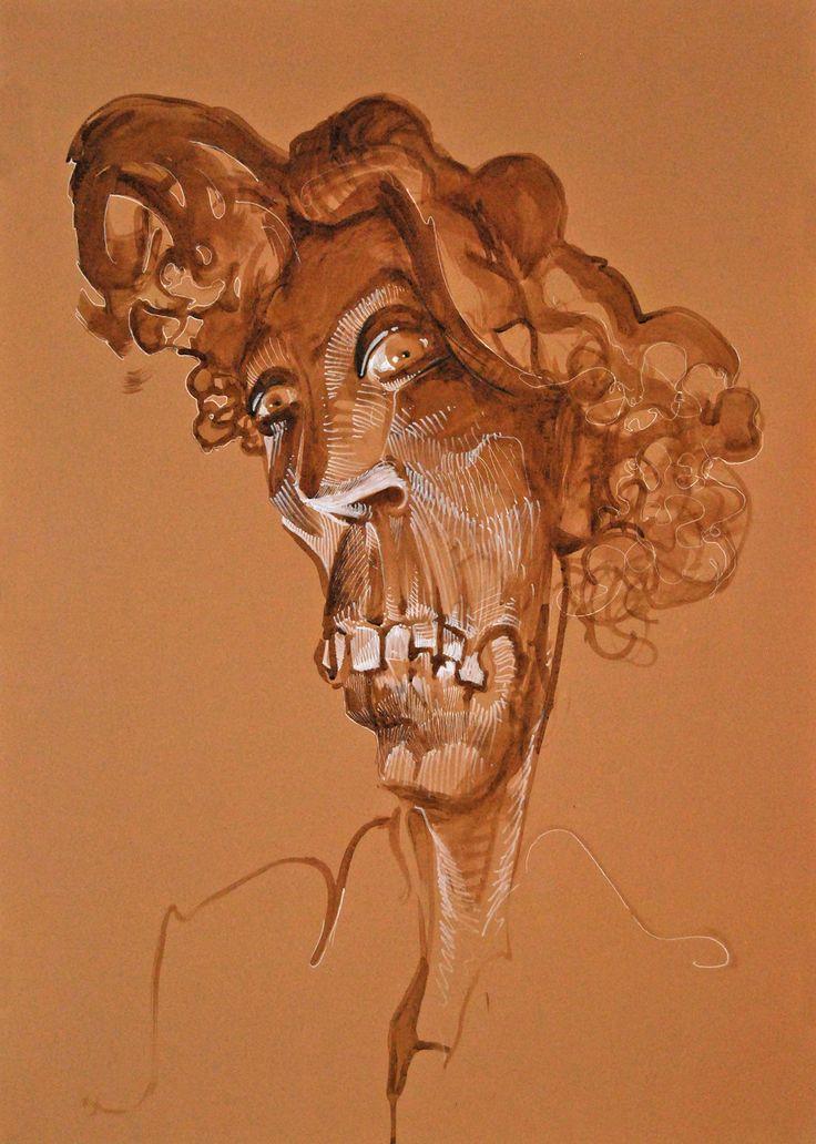 Portret #coffee #cansonpaper #artforfun #tybur