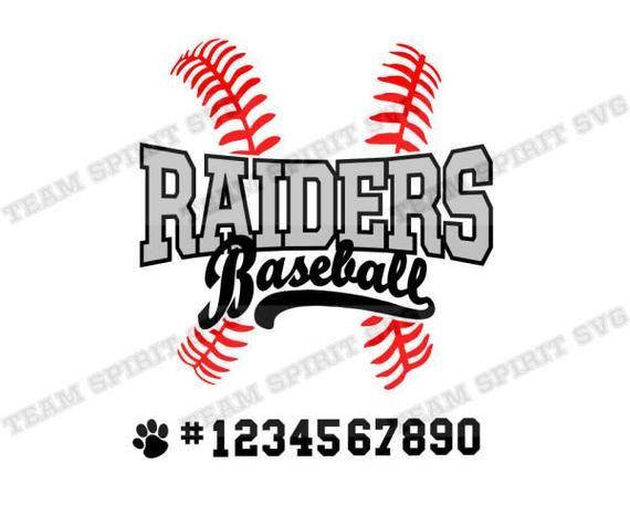 Baseball SVG Raiders svg Baseball Laces Download File dxf