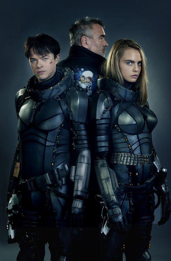 Valerian | Cara Delevingne e Dane DeHaan aparecem na primeira imagem oficial do filme | Omelete