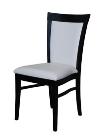This dinning chair is suitable for a small space because it is slender giving more room around the dinning room table.