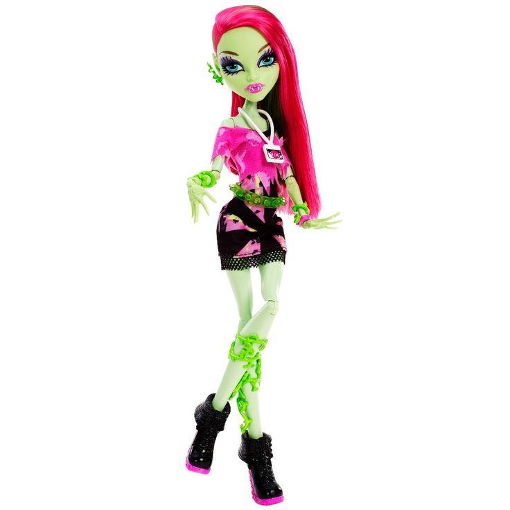 Венера Макфлайтрап - кукла из серии Музыкальный фестиваль (Music Festival Venus McFlytrap Doll) / Монстр Хай