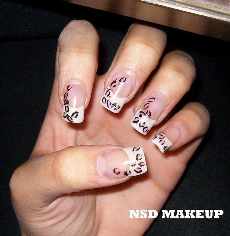 Más de 40 fotos de uñas de porcelana decoradas | Decoración de Uñas - Manicura y Nail Art