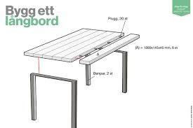Bildresultat för tillverka matbord av plankor