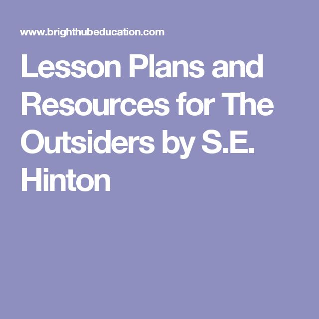 the outsiders by s e hinton essay In the novel the outsiders by se hinton, four major themes in are class and society, loyalty, violence, and appearance through these 4.