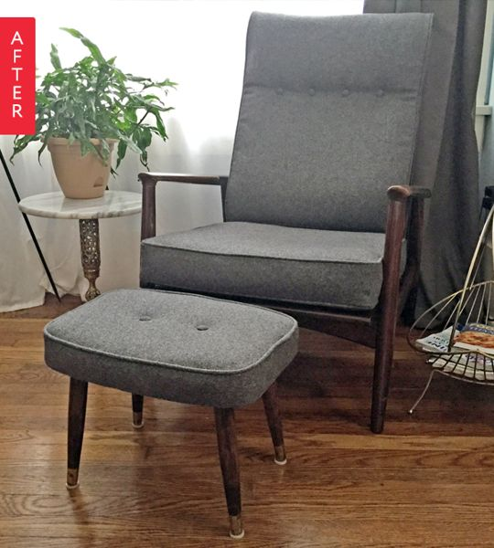 Before & After: Danish Chair Goes Back in Time