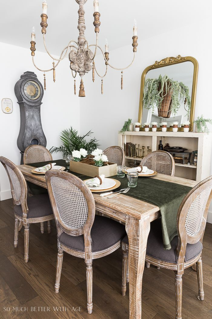 41+ Traditional farmhouse dining room type