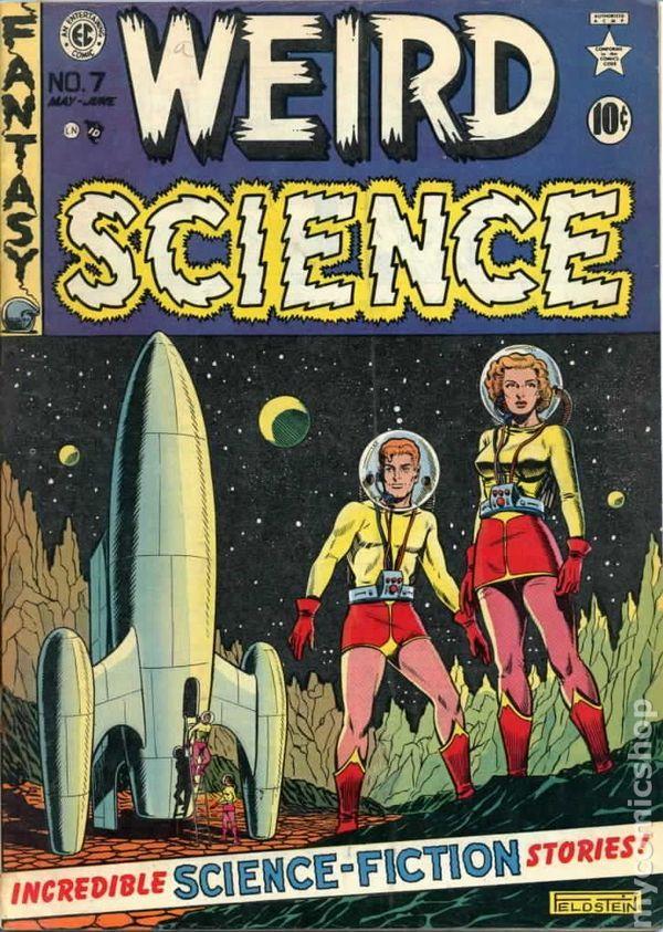 1950 Weird Science #7 by EC Comics