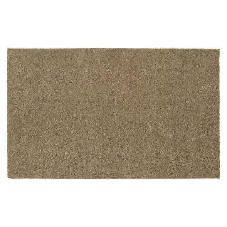 Garland Rug Bathroom Carpet - 5' x 8', Beig/Green (Beig/Khaki)