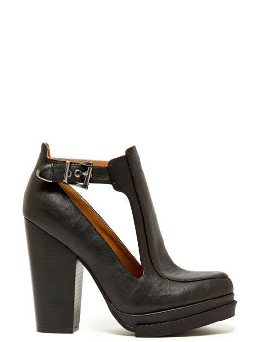 Qupid Open Panel Bootie | Fall Shoes | Shop Women's Missy & Plus Size  Clothing