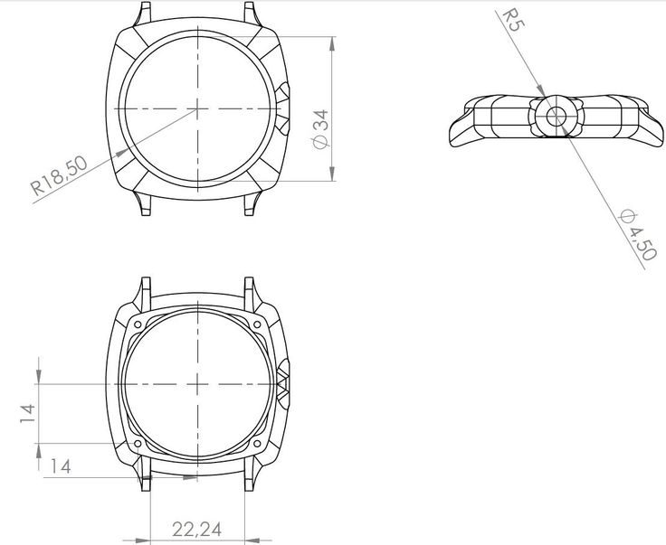 GB001 - Dimensions