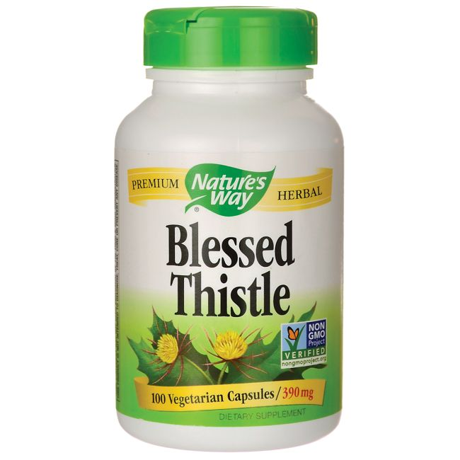 Blessed Thistle, 390 mg 100 Veg Caps AED149.00 #UAESupplements