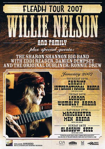 Fleadh with Willie Nelson 2007