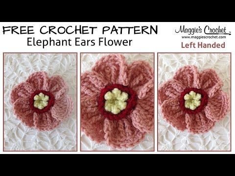 Crochet Patterns Left Handed : ... Ears Free Crochet Pattern - Left Handed - YouTube - Maggies Crochet