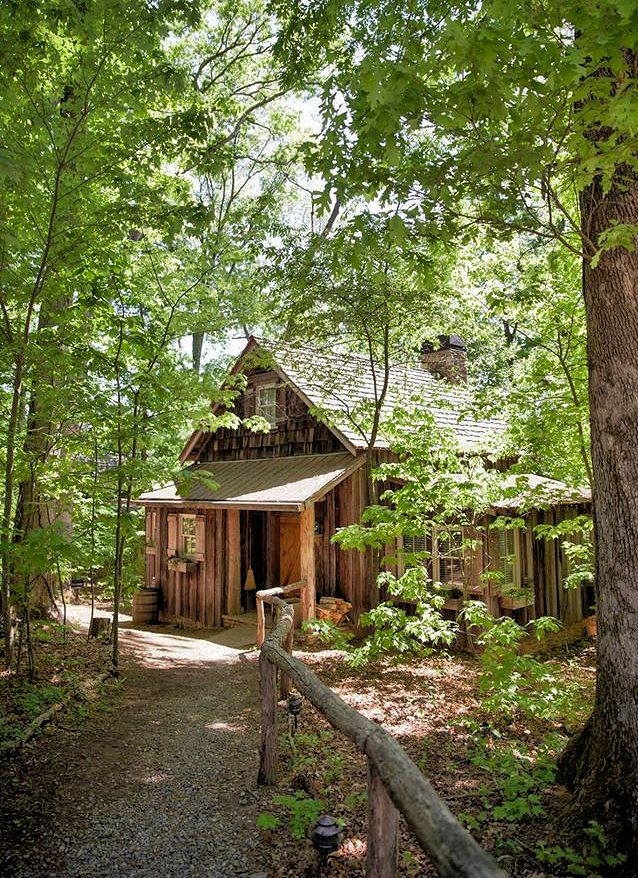 Cabin rentals near Asheville, North Carolina, in the Blue Ridge Mountains