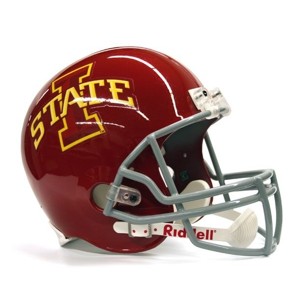 Full-Size Riddell Replica Iowa State Football Helmet! by angela