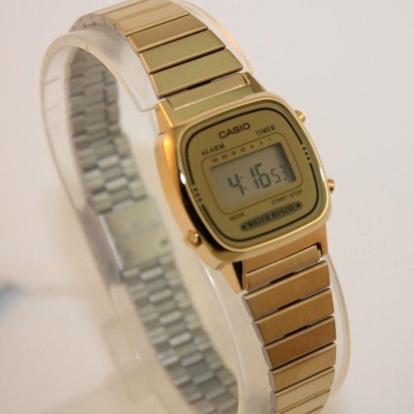 Reloj Casio Dorado Clásico Mujer