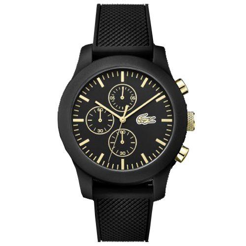 Relógio Lacoste Masculino Borracha Preta - 2010826