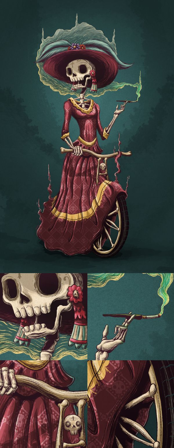 CATRINA | The Customizers '13 by . MOSTASHO ., via Behance