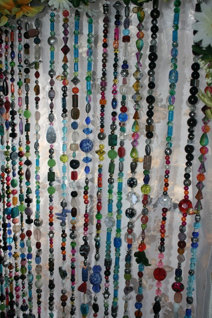The Beaded Curtains I Wanted In The 60s Home Decor