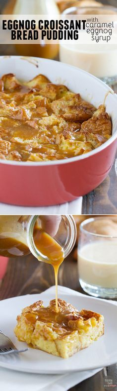Croissant Bread Puddings on Pinterest | Bread Puddings, Croissant ...