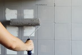 Crea Decora Recicla by All washi tape | Autentico Chalk Paint: CÓMO PINTAR TUS AZULEJOS CON VERSANTE CHALK PAINT EN UN FIN DE SEMANA