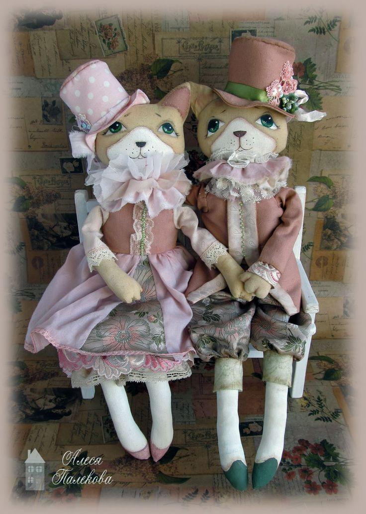 Винтажные коты