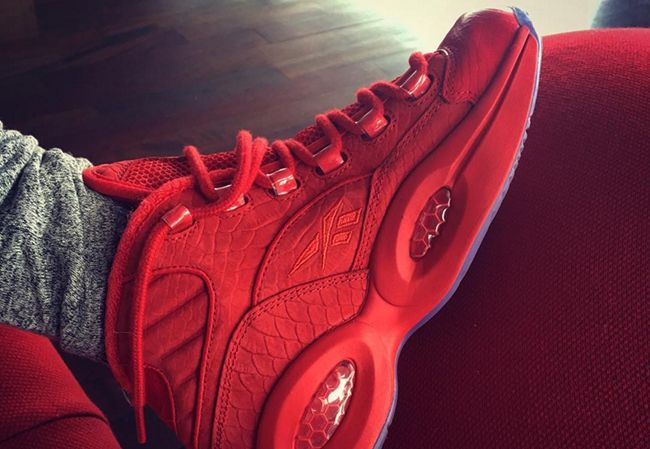 http://SneakersCartel.com Teyana Taylor x Reebok Question 'Red October' Release Date #sneakers #shoes #kicks #jordan #lebron #nba #nike #adidas #reebok #airjordan #sneakerhead #fashion #sneakerscartel