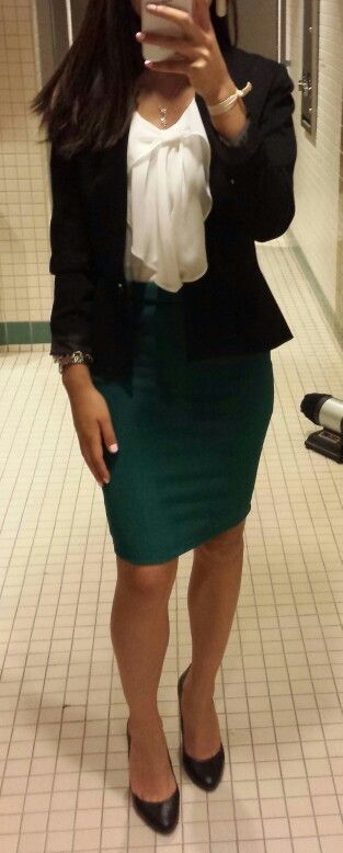 Office Outfit of the day. Business causal