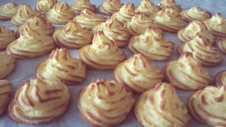 Patate duchessa , pommes duchesse