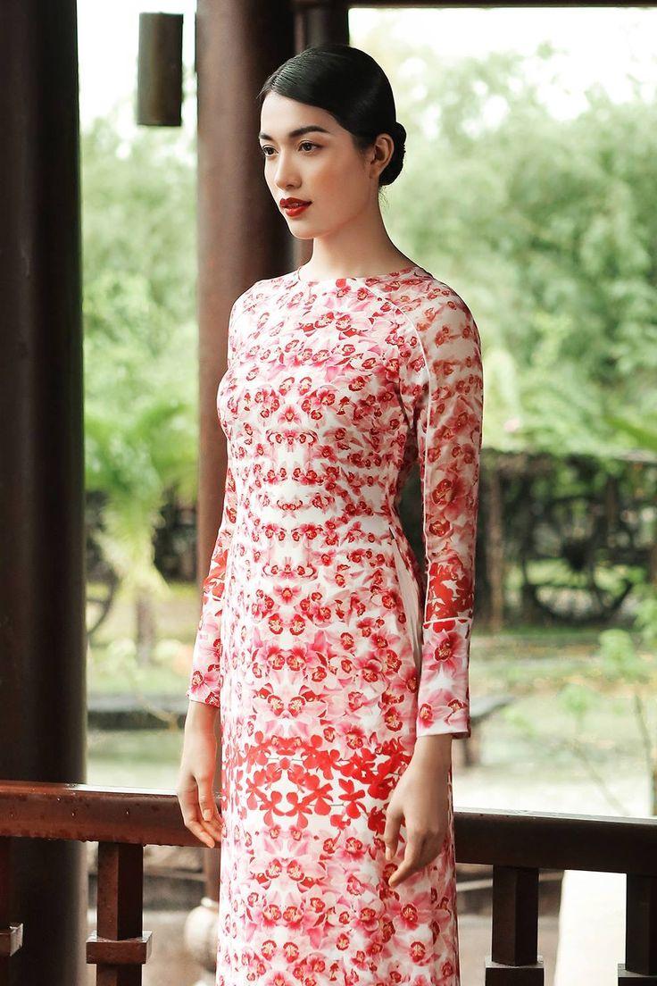 Mejores 7 imágenes de Ao dai en Pinterest | Vestidos tradicionales ...
