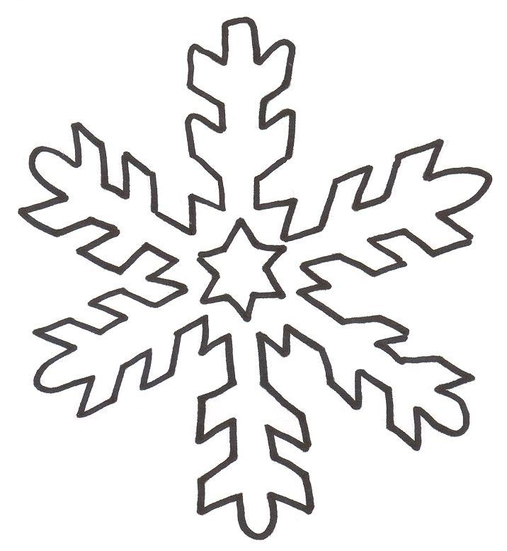 su Fiocchi Di Neve Di Carta su Pinterest  Fiocchi Di Neve, Modelli Di ...
