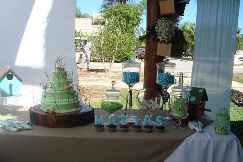 Montaje de mesa de dulces para bautizo ni o montaje de mesas pinterest mesas - Como hacer centros de mesa para bautizo ...