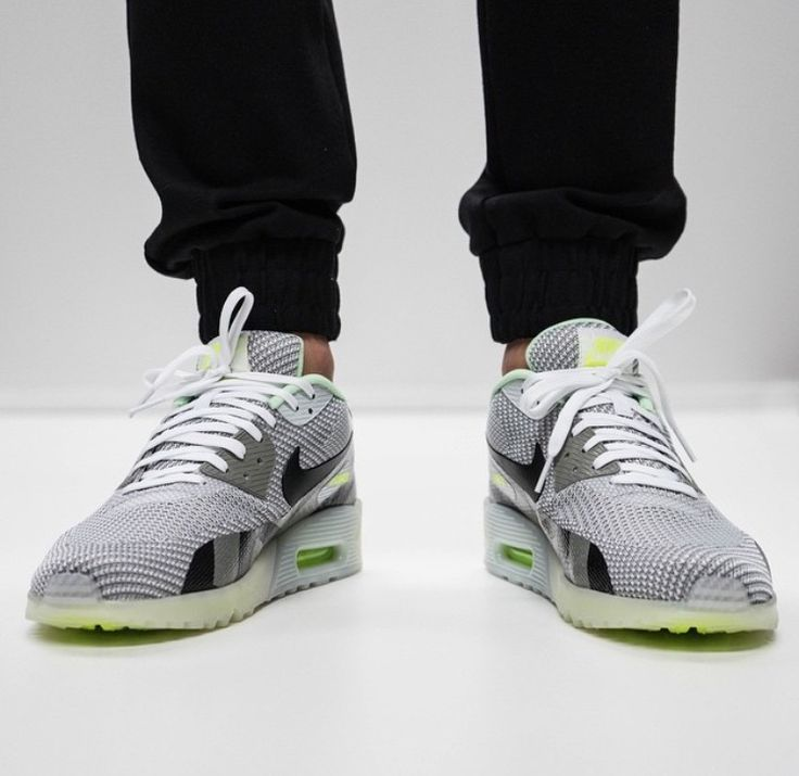 nike air max 90 knit jacquard ice grey mist