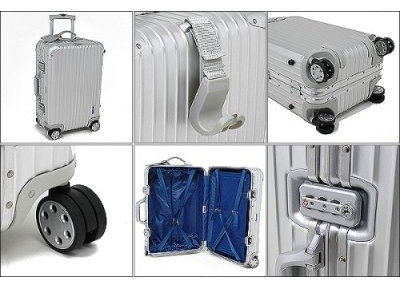 Rimowa Topas Aluminum Carry-on