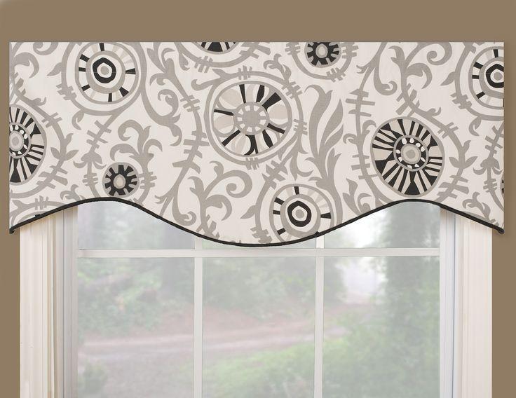 window valance ideas | Window Valances | Window treatment, blinds and window shade, curtain