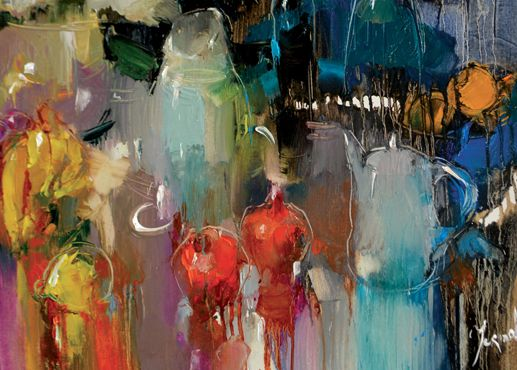 Garden Table by Iryna Yermolova